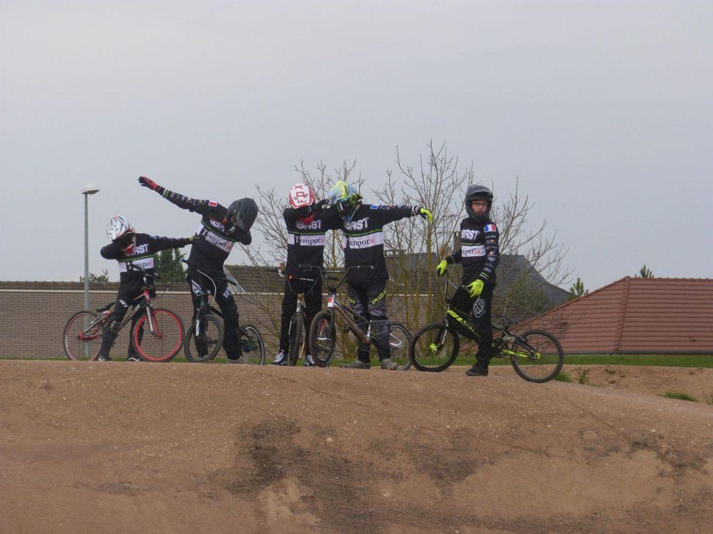 BRST Bmx Roller Skate de Troyes maillot 2018